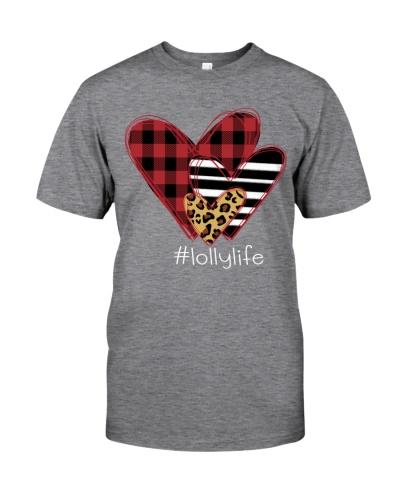Love lolly life - three heart