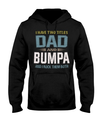 I have two titles Dad and Bumpa - RV10
