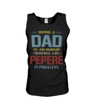 Being a Pepere is priceless Unisex Tank thumbnail