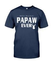 Best buckin' papaw ever Classic T-Shirt front