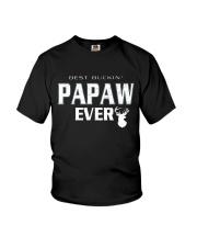 Best buckin' papaw ever Youth T-Shirt thumbnail