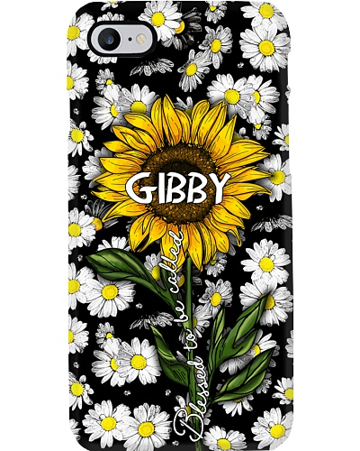 Blessed to be called Gibby - Sunflower art