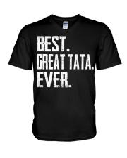 New - Best Great Tata Ever V-Neck T-Shirt thumbnail