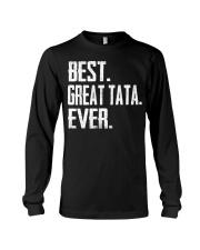 New - Best Great Tata Ever Long Sleeve Tee thumbnail