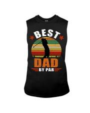 Best Dad By Par Sleeveless Tee thumbnail