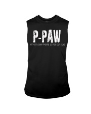 P-Paw Because Grandfather is for old guys Sleeveless Tee thumbnail