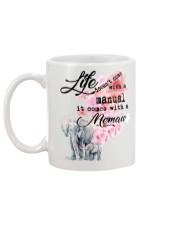 Life comes with Memaw Mug back