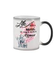 Life comes with Memaw Color Changing Mug thumbnail