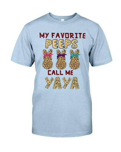 Favorite Peeps call me Yaya