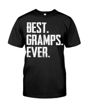 New - Best Gramps Ever Classic T-Shirt front
