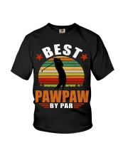 Best Pawpaw By Par Youth T-Shirt thumbnail