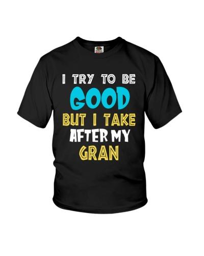I take after my gran