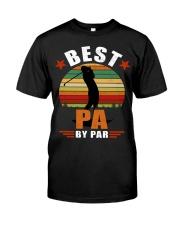 Best Pa By Par Classic T-Shirt front