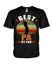 Best Pa By Par V-Neck T-Shirt thumbnail