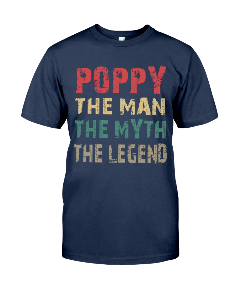 Poppy - The man knows everything Classic T-Shirt