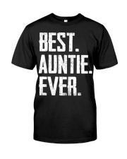 New - Best Auntie Ever Classic T-Shirt front