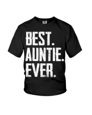 New - Best Auntie Ever Youth T-Shirt thumbnail