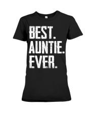 New - Best Auntie Ever Premium Fit Ladies Tee thumbnail