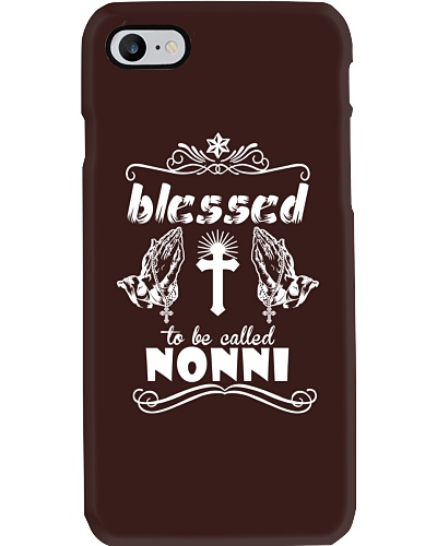 Blessed to be called nonni  prays
