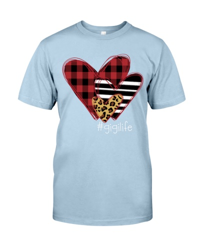 Love Gigi life - three heart collection