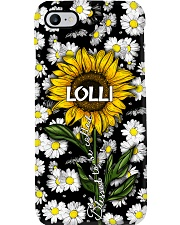Blessed to be called  lolli - Sunflower art Phone Case i-phone-7-case