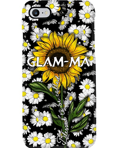 Blessed to be called Glam-ma- Sunflower art