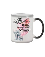 Life comes with Nanny Color Changing Mug thumbnail