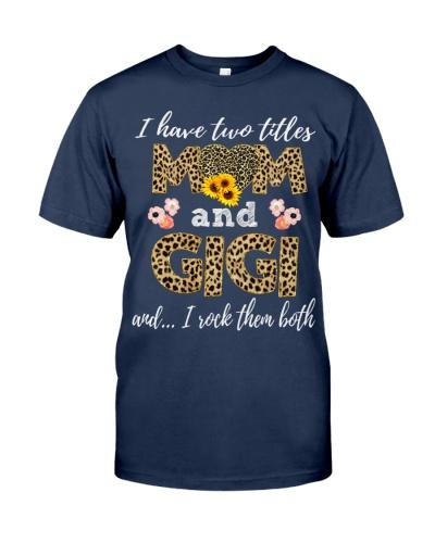 Mom and Gigi - Leopard Sunflower