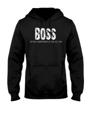 Boss because Grandfather is for old guys Hooded Sweatshirt thumbnail