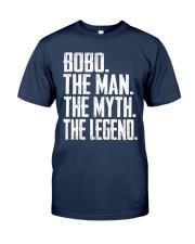 BobO - The Man - The Myth - V2 Classic T-Shirt front