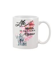 Life comes with Mamaw Mug front