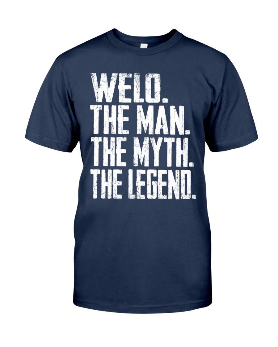 Welo - The Man - The Myth - V2 Classic T-Shirt