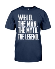 Welo - The Man - The Myth - V2 Classic T-Shirt front