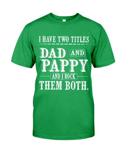 Two titles Dad and Pappy V1