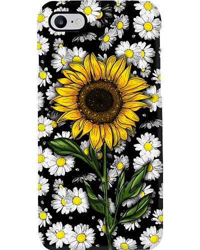 Sunflower art phone case