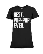 New - Best Pop-Pop Ever Premium Fit Ladies Tee thumbnail
