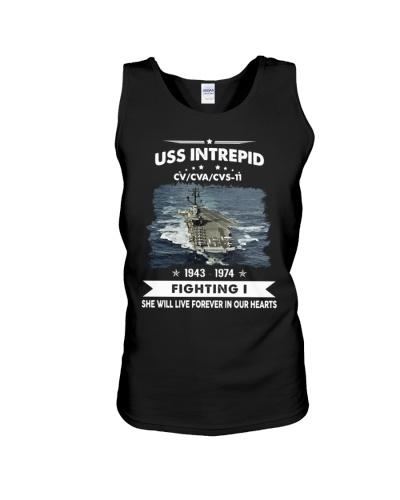 Navy Veteran Proud - USS Intrepid  CV 11