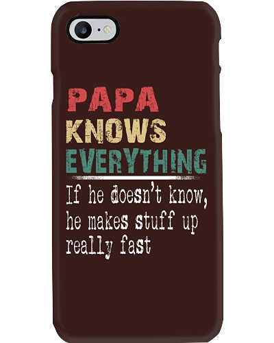 Papa knows everything