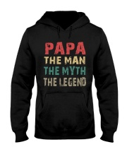 Papa - The man knows everything Hooded Sweatshirt thumbnail
