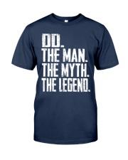 DD - The Man - The Myth - V2 Classic T-Shirt front