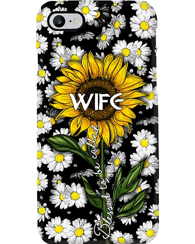Blessed to be called wife - Sunflower art