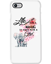 Life doesn't come with a manual it comes with GiGi Phone Case thumbnail