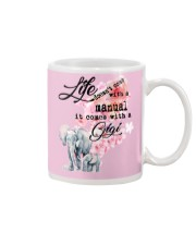 Life doesn't come with a manual it comes with GiGi Mug tile