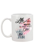 Life doesn't come with a manual it comes with GiGi Mug back