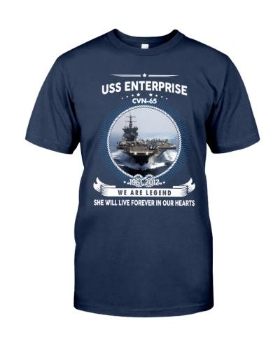 Navy Veteran Proud - USS Enterprise CVN 65