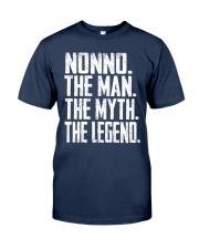 Nonno- The Man - The Myth - V2 Classic T-Shirt front