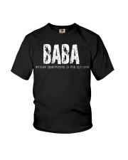 Baba because Grandfather is for old guys Youth T-Shirt thumbnail