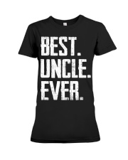 New - Best Uncle Ever Premium Fit Ladies Tee thumbnail