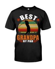 Best Grandpa By Par Classic T-Shirt front