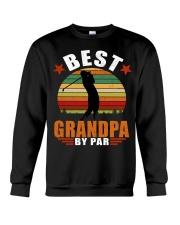 Best Grandpa By Par Crewneck Sweatshirt thumbnail